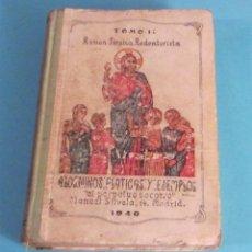Libros de segunda mano: A LOS NIÑOS: PLÁTICAS Y EJEMPLOS. TOMO II. RAMON SARABIA REDENTORISTA. Lote 49288053