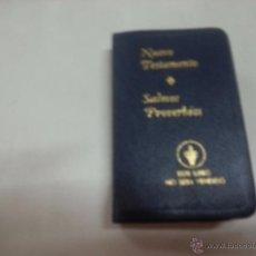 Libros de segunda mano: NUEVO TESTAMENTO-SALMOS PROVERBIOS-GEDEONES INTERNACIONALES- N 1. Lote 50102458