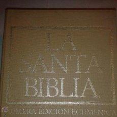 Libros de segunda mano: LA SANTA BIBLIA PRIMERA EDICIÓN ECUMÉNICA TRES VOLÚMENES 1969 PLAZA & JANES. Lote 50137636