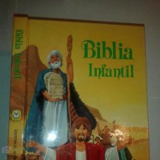 Libros de segunda mano: BIBLIA INFANTIL ILUSTRADA 1990 EDITORIAL ALFREDO ORTELLS. Lote 50191068