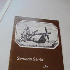 Libros de segunda mano: SEMANA SANTA DE ORIHUELA EN EL RECUERDO-1982-CASA DE ORIHUELA EN ALICANTE-CAJA RURAL CENTRAL. Lote 95594530