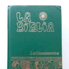 Libros de segunda mano: LA BIBLIA. LATINOAMÉRICA - EDITORIAL VERBO DIVINO - 1992 - RELIGION, CRISTIANISMO. Lote 50528887