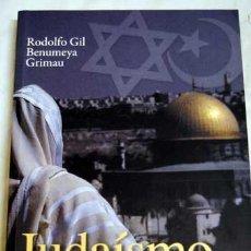 Libros de segunda mano: JUDAÍSMO E ISLAM PROFUNDOS; AMBIGÜEDAD Y ESPERA, FE Y ENTREGA. RODOLFO GIL BENUMEYA. Lote 50675048