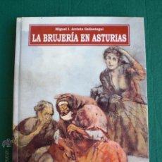 Libros de segunda mano: LA BRUJERIA EN ASTURIAS MIGUEL I ARRIETA GALLASTEGUI BRUJAS AQUELARRES SUPERSTICION. Lote 225824127