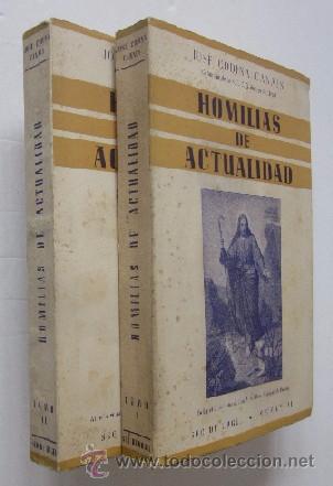 HOMILIAS DE ACTUALIDAD - 2 TOMOS (Libros de Segunda Mano - Religión)