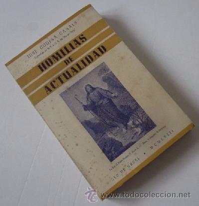 Libros de segunda mano: HOMILIAS DE ACTUALIDAD - 2 TOMOS - Foto 2 - 51023057