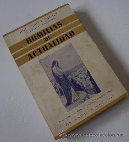 Libros de segunda mano: HOMILIAS DE ACTUALIDAD - 2 TOMOS - Foto 5 - 51023057
