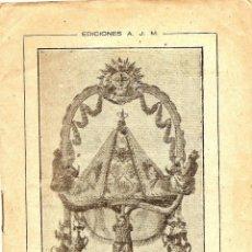 Libros de segunda mano: NOVENA A LA VIRGEN DEL CORO POR EL ESCLAVITO - EDICIONES J.M. - VITORIA AÑO 1948. Lote 51032679