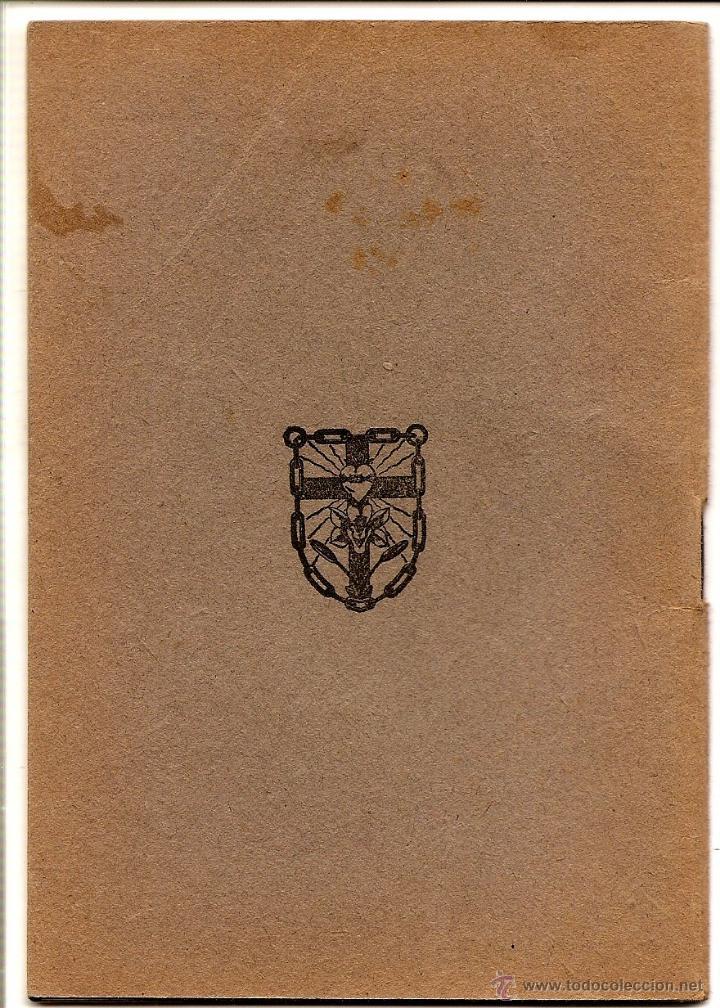 Libros de segunda mano: MI BOLETÍN DE ACTOS POR EL VICEDIRECTOR GENERAL DE LA OBRA - EDICIONES J.M. - VITORIA AÑO 1944 - Foto 5 - 51032805
