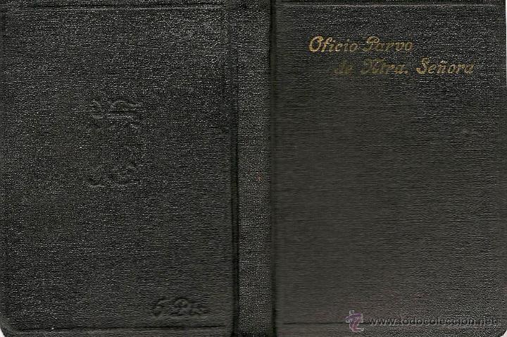 Libros de segunda mano: Oficio Parvo de la Santísima Virgen María en latín y castellano - 1949 - Foto 1 - 51052264