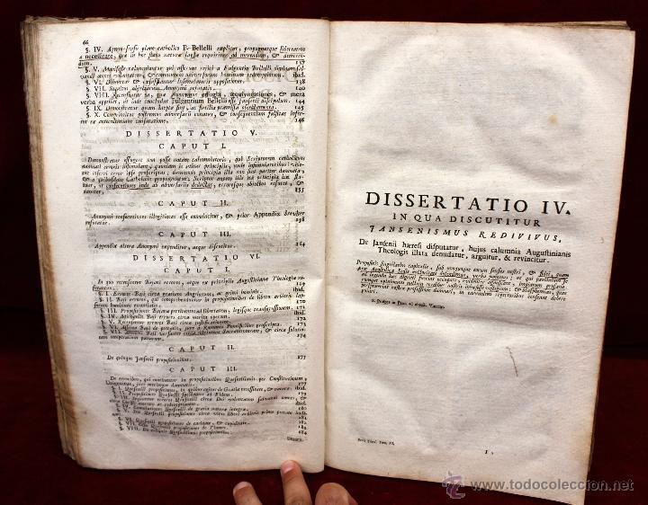 Libros de segunda mano: JO. LAURENTII BERTI...OPUS DE THEOLOGICIS DISCIPLINIS. TOMO VI. 1760. LIBRO RELIGION EN LATIN. - Foto 2 - 51260783