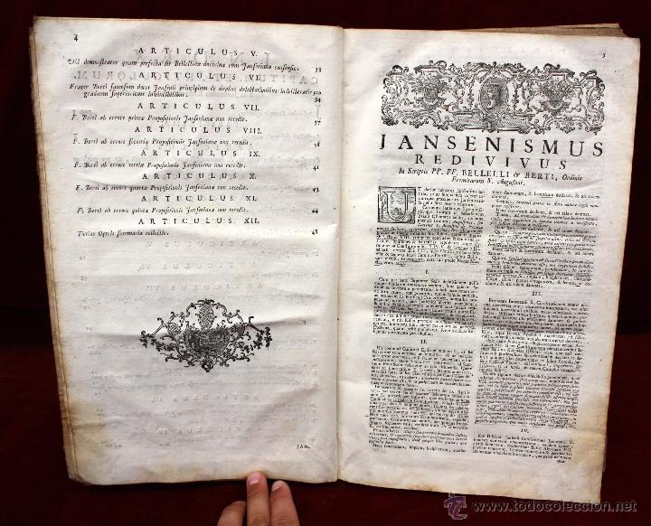 Libros de segunda mano: JO. LAURENTII BERTI...OPUS DE THEOLOGICIS DISCIPLINIS. TOMO VI. 1760. LIBRO RELIGION EN LATIN. - Foto 5 - 51260783