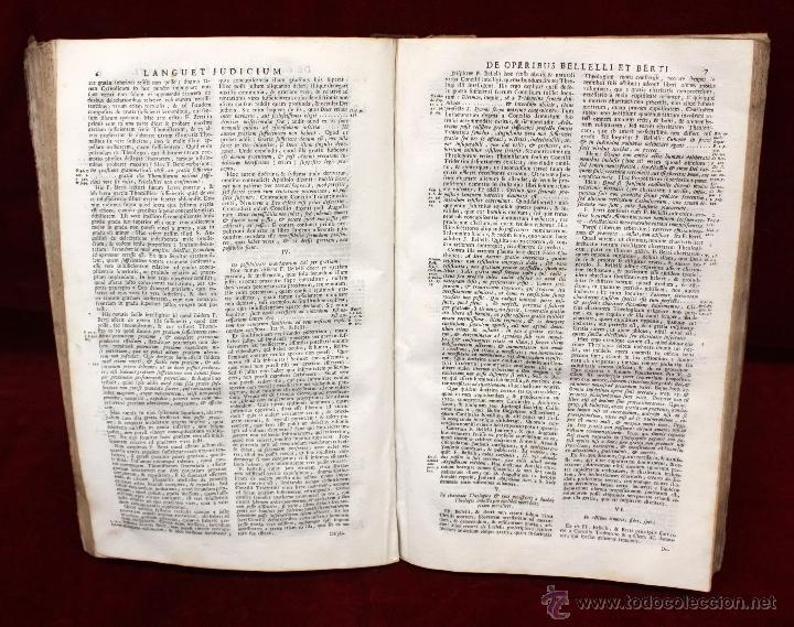Libros de segunda mano: JO. LAURENTII BERTI...OPUS DE THEOLOGICIS DISCIPLINIS. TOMO VI. 1760. LIBRO RELIGION EN LATIN. - Foto 7 - 51260783