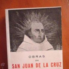 Libros de segunda mano: OBRAS DE SAN JUAN DE LA CRUZ POR DOCTOR DE LA IGLESIA,PROLOGO DE ALEJANDRO DIEZ BLANCO BIBLIOTECA D. Lote 51446965