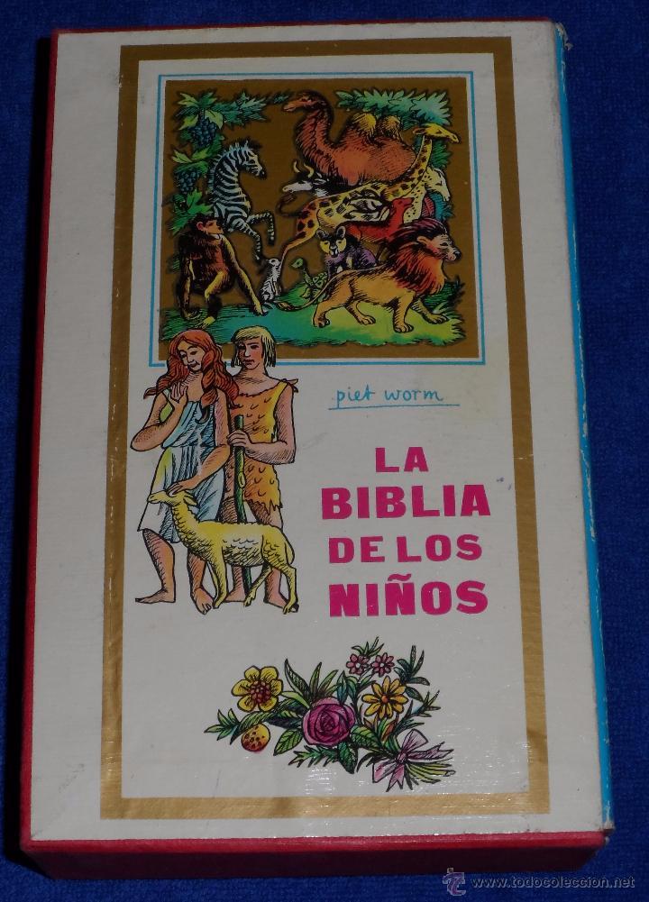Libros de segunda mano: LA BIBLIA DE LOS NIÑOS - ILUSTRADA POR PIET WORM - Plaza & Janes (1962) - Foto 2 - 79041211