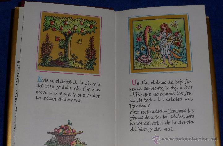 Libros de segunda mano: LA BIBLIA DE LOS NIÑOS - ILUSTRADA POR PIET WORM - Plaza & Janes (1962) - Foto 6 - 79041211