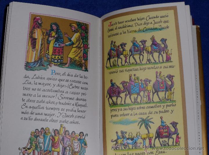 Libros de segunda mano: LA BIBLIA DE LOS NIÑOS - ILUSTRADA POR PIET WORM - Plaza & Janes (1962) - Foto 7 - 79041211