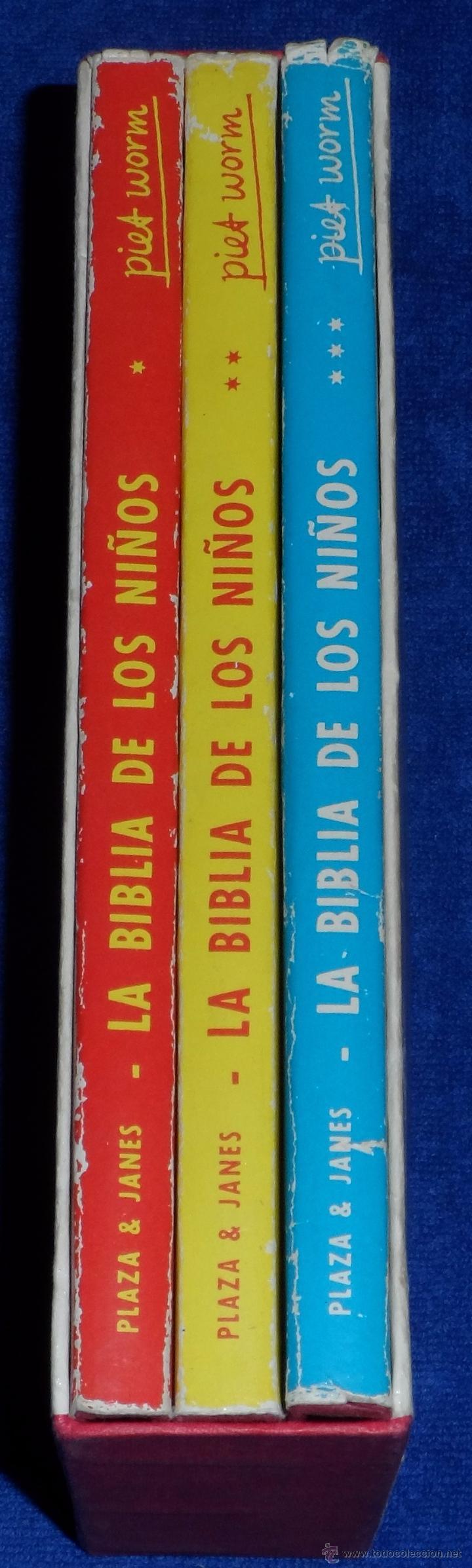 Libros de segunda mano: LA BIBLIA DE LOS NIÑOS - ILUSTRADA POR PIET WORM - Plaza & Janes (1962) - Foto 9 - 79041211