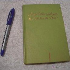 Libros de segunda mano: ¿ES LA BIBLIA REALMENTE LA PALABRA DE DIOS?. Lote 51812827