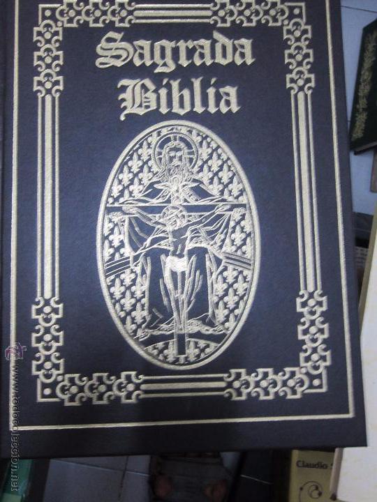 SAGRADA BIBLIA GRAN FORMATO OCEANO (Libros de Segunda Mano - Religión)
