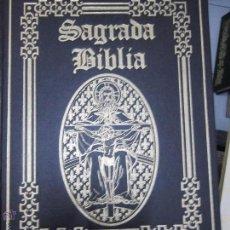 Libros de segunda mano: SAGRADA BIBLIA GRAN FORMATO OCEANO. Lote 52144926
