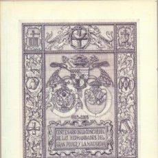 Libros de segunda mano: SEMANA SANTA SEVILLA,2003,CENTENARIO CONCORDIA HERMANDADES GRAN PODER Y MACARENA,162 PAGINAS. Lote 52338138