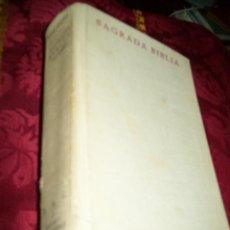 Libros de segunda mano: SAGRADA BIBLIA, NACAR-COLUNGA BAC (Nº 1) ED. 22ª, 1967. Lote 173347267