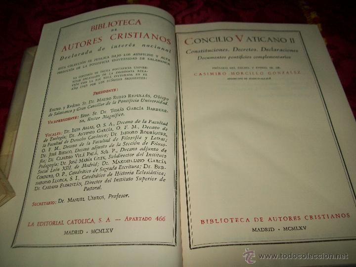 Libros de segunda mano: Concilio - Foto 2 - 52443440