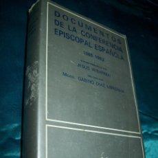 Libros de segunda mano: DOCUMENTOS DE LA CONFERENCIA EPISCOPAL ESPAÑOLA (1965-1983). IRIBARREN. BAC, Nº 459. 1984. Lote 52456865