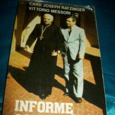 Libros de segunda mano: INFORME SOBRE LA FE. RATZINGER (BENEDICTO XVI) - MESSORI. BAC POPULAR, Nº 66. 10ª ED. 1985.. Lote 99563828