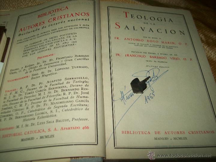 Libros de segunda mano: Royo Salvación - Foto 2 - 136320356