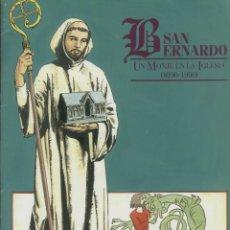 Libros de segunda mano - SAN BERNARDO, UN MONJE EN LA IGLESIA EDITIONS DU SIGNE 30 PAGS ILUSTRADAS FRANCIA LR1575 - 52494462