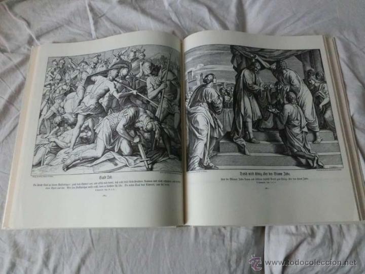 MAGNÍFICO FACSÍMIL DE LA CÉLEBRE BIBLIA EN IMÁGENES DE SCHNORR VON CAROLSFELD (1860) (Libros de Segunda Mano - Religión)