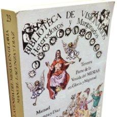 Libros de segunda mano: BIBLIOTECA DE VISIONARIOS · HETERODOXOS Y MARGINADOS ·· MANUEL LANCUZA DIAZ ·· 1977. Lote 52788209