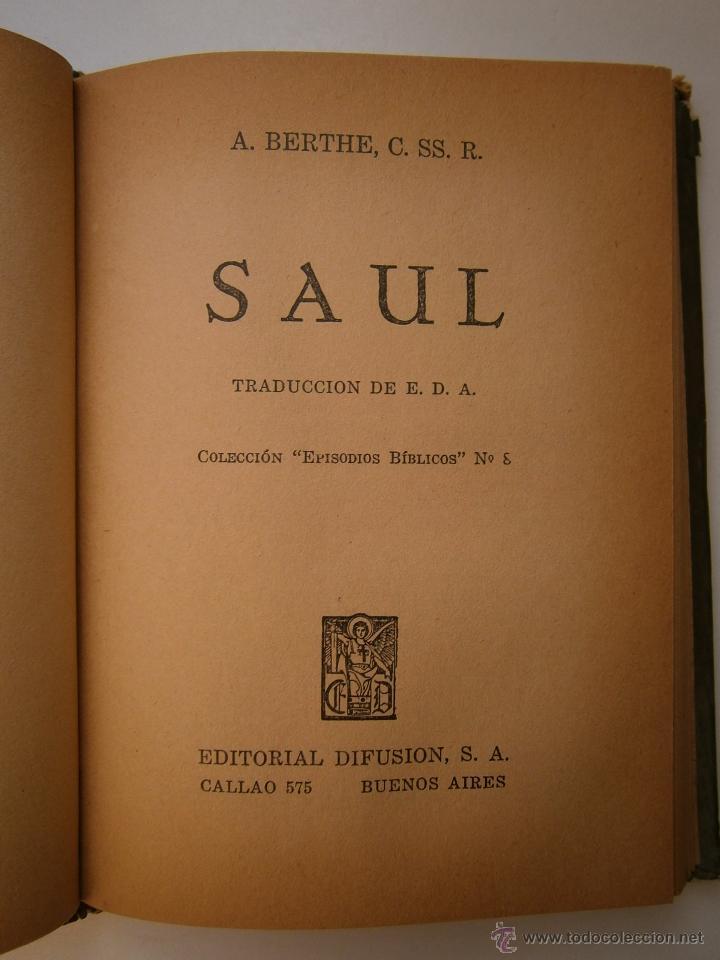 Libros de segunda mano: GEDEON Y SANSON Berthe Difusion 1947 EPISODIOS BIBLICOS 7 - Foto 13 - 52871014