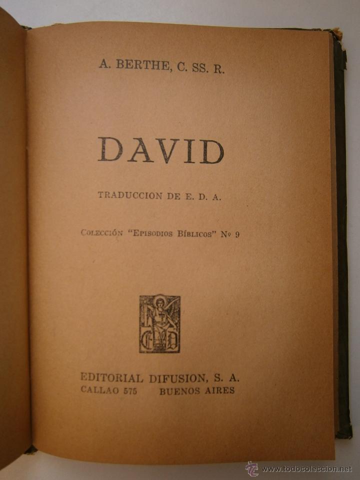 Libros de segunda mano: GEDEON Y SANSON Berthe Difusion 1947 EPISODIOS BIBLICOS 7 - Foto 16 - 52871014