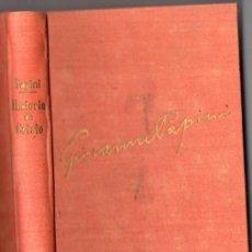 Libros de segunda mano: GIOVANNI PAPINI : HISTORIA DE CRISTO (FAX, 1952). Lote 52954526