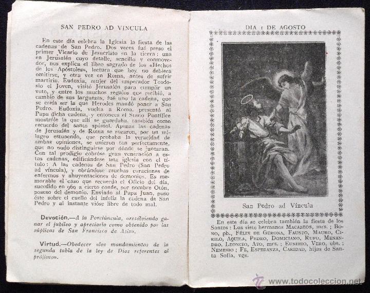 Libros de segunda mano: AÑO CRISTIANO, MES DE AGOSTO DEDICADO A LA ASUNCIÓN DE MARÍA SANTÍSIMA - AÑO 1944 - Foto 3 - 53138599