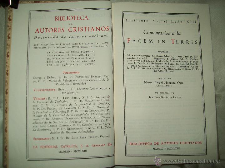 Libros de segunda mano: Pacem in Terris - Foto 2 - 53173667
