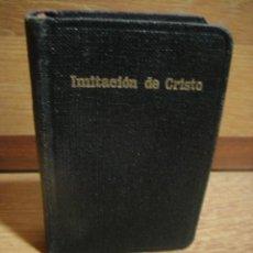 Libros de segunda mano: IMITACION DE CRISTO - KEMPIS - MINIATURA . Lote 53212819