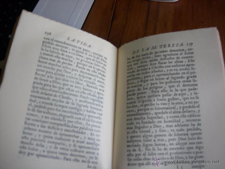 Libros de segunda mano: la vida de la madre Teresa de Jesús - Foto 2 - 53228361