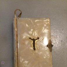 Libros de segunda mano: ANTIGUO LIBRO DE PRIMERA COMUNIÓN MI ANGEL TUTELAR DEVOCIONARIO PARA NIÑOS POR RDO. F..BALDELLÓ BCN. Lote 53229010