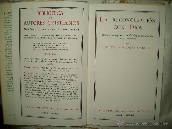 Libros de segunda mano: Reconciliación - Foto 2 - 53262432