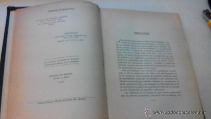 Libros de segunda mano: MORAL CONYUGAL - S.S. PIO XII - JULIO 1952 - CENSURA ECLESIASTICA -MUY DIFICIL - Foto 5 - 53537215