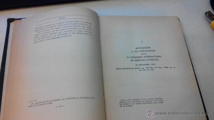 Libros de segunda mano: MORAL CONYUGAL - S.S. PIO XII - JULIO 1952 - CENSURA ECLESIASTICA -MUY DIFICIL - Foto 6 - 53537215