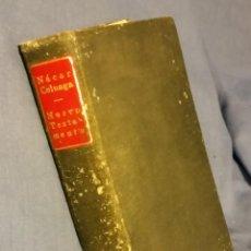 Libros de segunda mano: NUEVO TESTAMENTO VERSIÓN DIRECTA DEL TEXTO ORIGINAL GRIEGO (NACAR COLUNGA) 1953 RELIGIÓN. Lote 208887817