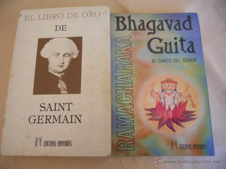 EL LIBRO DE ORO DE SAINT GERMAIN Y BHAGAVAD GUITA. LOTE DE DOS LIBROS (Libros de Segunda Mano - Religión)
