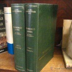 Libros de segunda mano: FRANCISCO JAVIER SU VIDA Y SU TIEMPO, SCHURHAMMER ,TOMO I PARTE 1º Y 2º MENSAJERO OFERTA 1969 REF G3. Lote 53835953