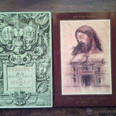 Libros de segunda mano: PREGONES SEMANA SANTA SEVILLA AÑOS 1988 Y 1989.. Lote 54032450