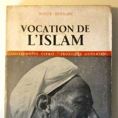 Libros de segunda mano: VOCATION DE L'ISLAM. Lote 54191291
